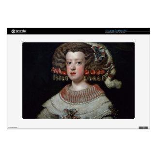 Portrait of the Infanta Maria Teresa (1638-83) fut Laptop Decal