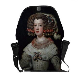 Portrait of the Infanta Maria Teresa (1638-83) fut Messenger Bag