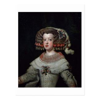 Portrait of the Infanta Maria Teresa (1638-83) fut Postcard