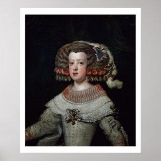 Portrait of the Infanta Maria Teresa (1638-83) fut Poster