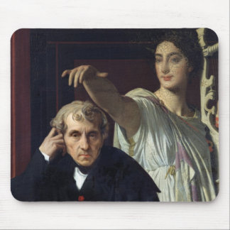 Portrait of the Italian Composer Cherubini Mouse Pad