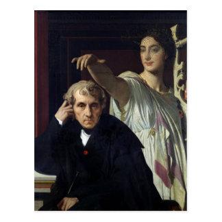 Portrait of the Italian Composer Cherubini Post Card