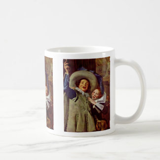 Portrait Of The Junker Ramp And His Sweetheart Classic White Coffee Mug