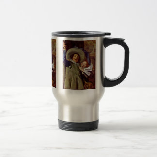 Portrait Of The Junker Ramp And His Sweetheart 15 Oz Stainless Steel Travel Mug