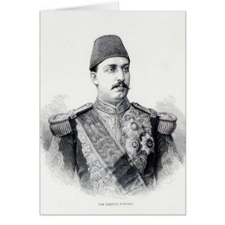 Portrait of The Khedive Tawfig Cards
