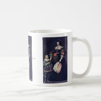 Portrait Of The Lady Of Charlotte Butkens Anoy Coffee Mug