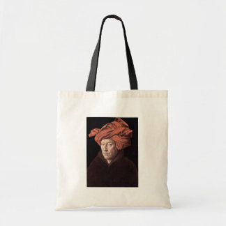 Portrait Of The Man With The Turban,  By Eyck Jan Budget Tote Bag