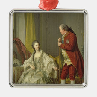 Portrait of the Marquis de Marigny and his Metal Ornament