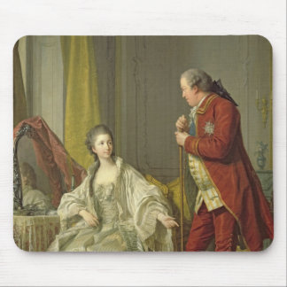 Portrait of the Marquis de Marigny and his Mouse Pad