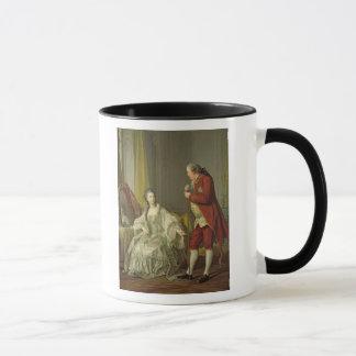 Portrait of the Marquis de Marigny and his Mug