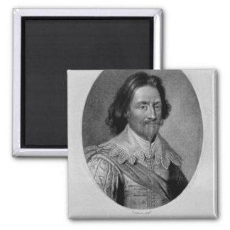 Portrait of The Marquis of Vieu Ville Magnet