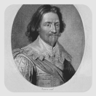 Portrait of The Marquis of Vieu Ville Sticker