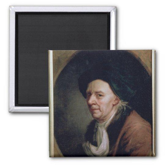 Portrait of the Mathematician Leonard Euler Magnet