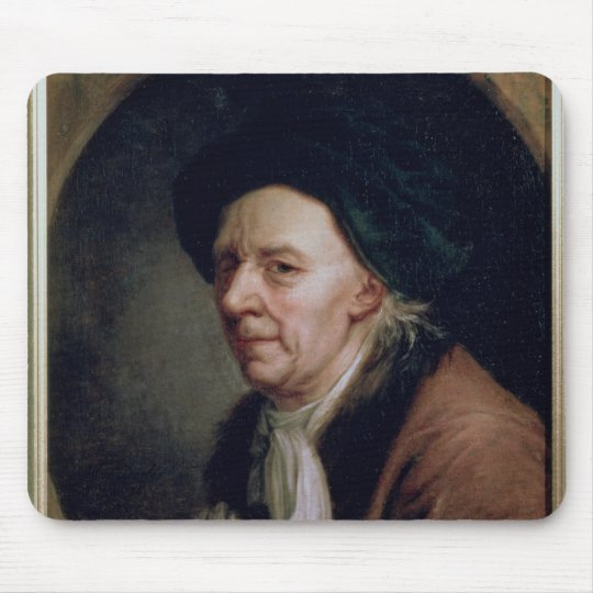 Portrait of the Mathematician Leonard Euler Mouse Pad