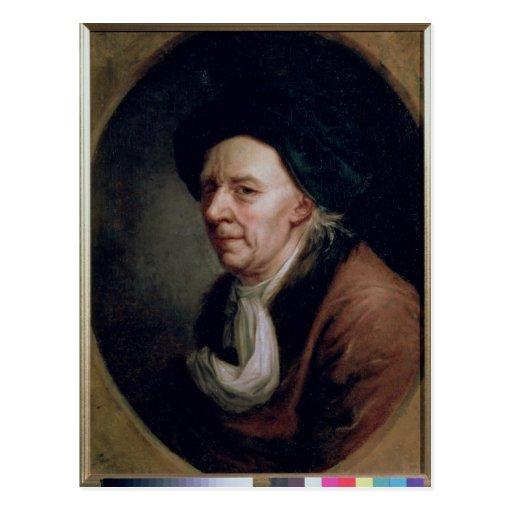 Portrait of the Mathematician Leonard Euler Post Cards