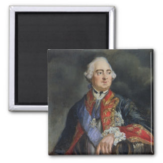 Portrait of the Mathematician Leonhard Euler 2 Inch Square Magnet