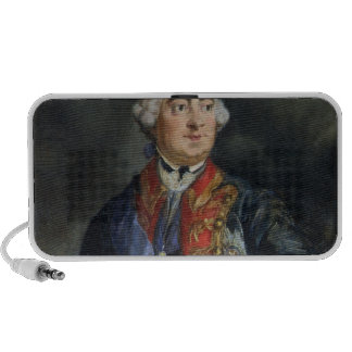Portrait of the Mathematician Leonhard Euler iPod Speaker
