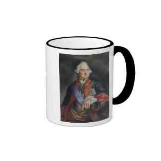 Portrait of the Mathematician Leonhard Euler Ringer Coffee Mug