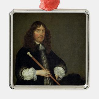 Portrait of the Mayor Metal Ornament