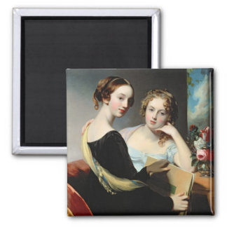 Portrait of the McEuen sisters, after 1823 Magnet