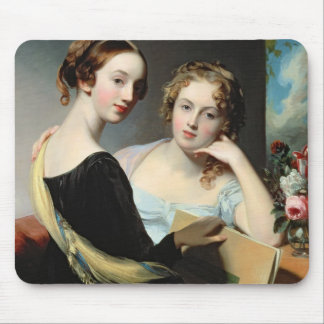 Portrait of the McEuen sisters, after 1823 Mouse Pad
