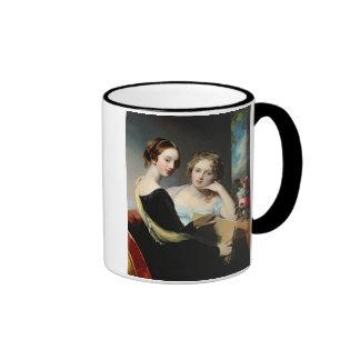 Portrait of the McEuen sisters, after 1823 Ringer Mug