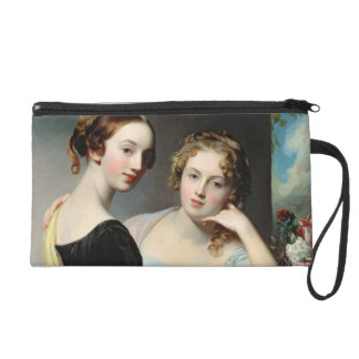 Portrait of the McEuen sisters, after 1823 Wristlet Purse