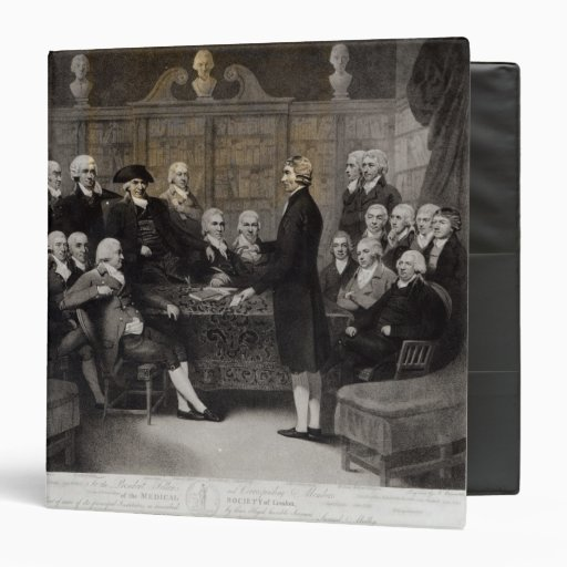 Portrait of the Medical Society Members of Binders