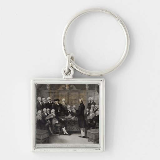 Portrait of the Medical Society Members of Key Chains