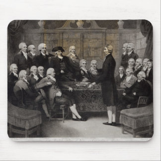 Portrait of the Medical Society Members of Mouse Pad