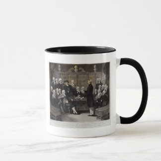 Portrait of the Medical Society Members of Mug