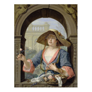 Portrait of the Mistress of the Artist M.C Postcard