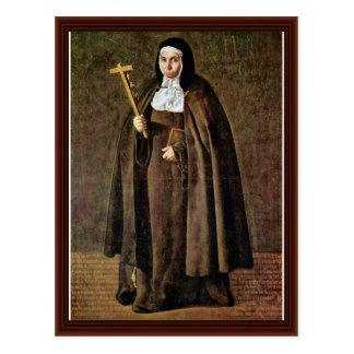 Portrait Of The Mother Jera ³ Nima De La Fuente Postcard