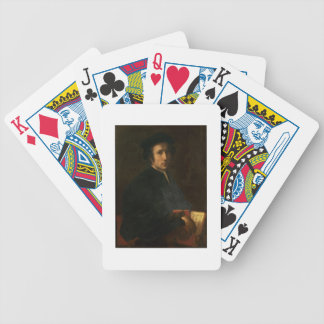 Portrait of the Musician Francesco dell'Ajolle, c. Bicycle Playing Cards