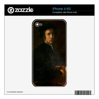 Portrait of the Musician Francesco dell'Ajolle, c. iPhone 4S Decal
