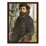 Portrait Of The Painter Claude Monet By Pierre- Post Card