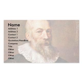 Portrait Of The Painter Marten Pepyn Business Cards