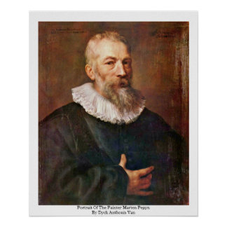 Portrait Of The Painter Marten Pepyn Print