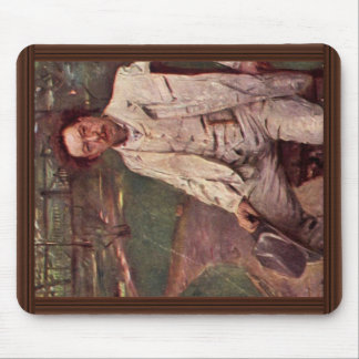 Portrait Of The Pianist Conrad Ansorge By Corinth Mousepad