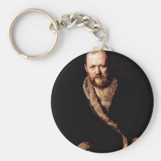 Portrait Of The Playwright Ostrovsky An By Perow Keychain