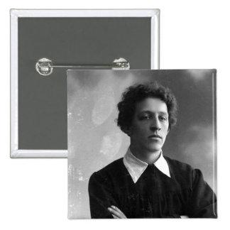 Portrait of the poet Alexander Blok Pinback Button
