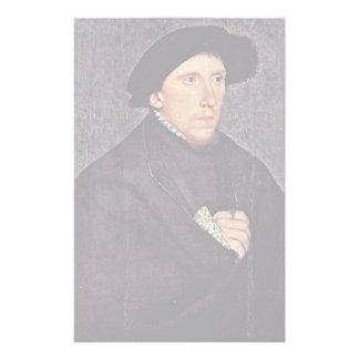 Portrait Of The Poet Henry Howard Earl Custom Stationery