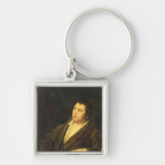 Portrait of the poet Ivan A. Krylov, 1812 Keychain