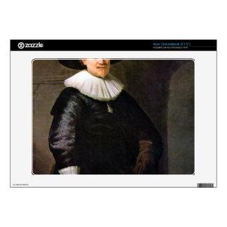 Portrait of the poet Jan Hermansz. Krul -Rembrandt Acer Chromebook Skin