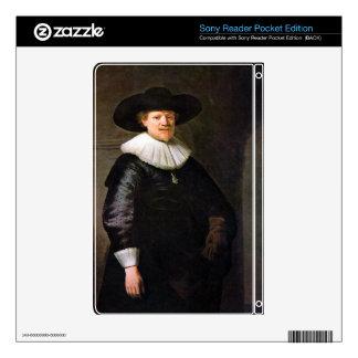Portrait of the poet Jan Hermansz. Krul -Rembrandt Skins For The Sony Reader