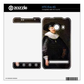 Portrait of the poet Jan Hermansz Krul -Rembrandt HTC Evo 4G Skin