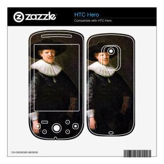 Portrait of the poet Jan Hermansz. Krul -Rembrandt Decals For HTC Hero