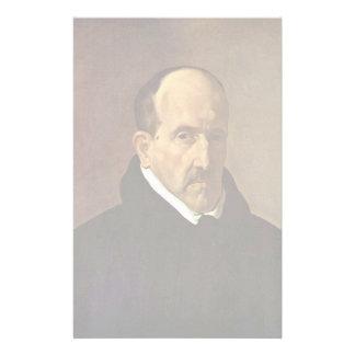 Portrait Of The Poet Luis De Gã ³ Ngora Y Argote Custom Stationery