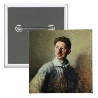 Portrait of the poet Sergey Gorodetsky  1909 Pins