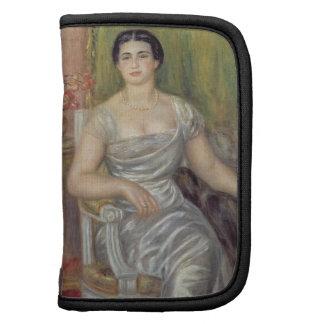 Portrait of the poetess Alice Valliere-Merzbach, 1 Folio Planner